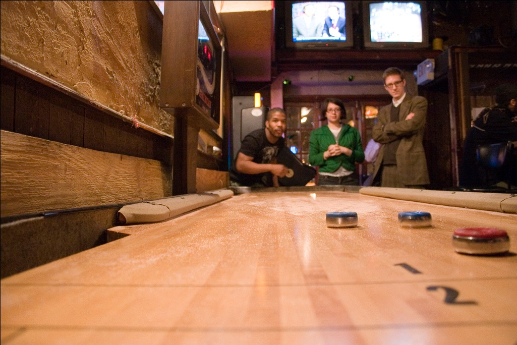 table how to look like youu0027ve done this before - Shuffle Board