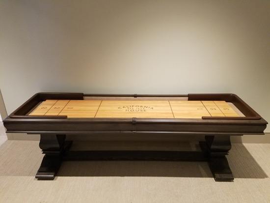 9u0027 Hillsborough Shuffleboard Table Installed In Fallsington, Pennsylvania    10/13/2017